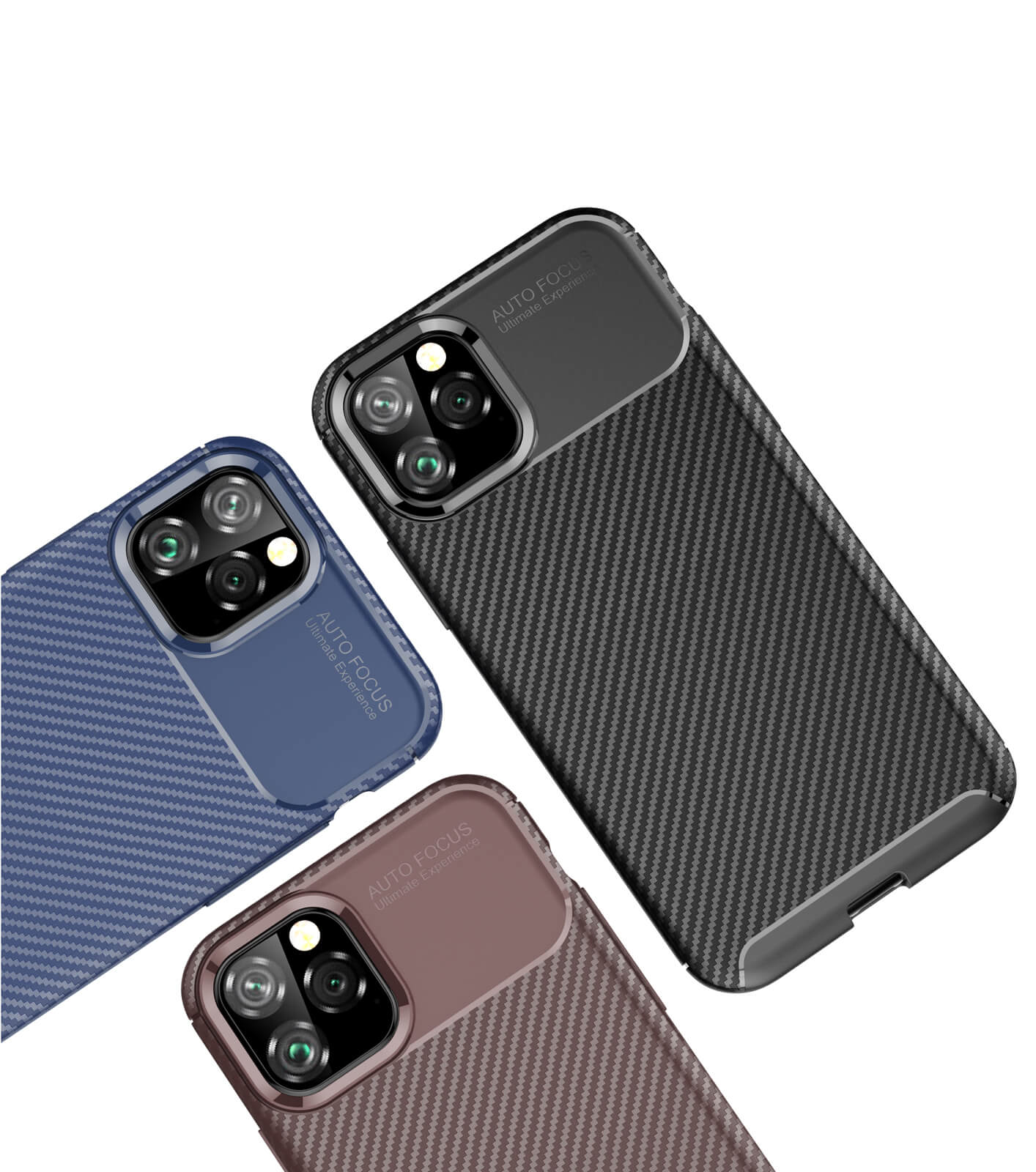 thumbnail 56 - Case for iPhone Carbon Fibre Soft Cover TPU Silicone Slim 11 X XR Max 8 7 6 Plus