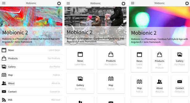Mobionic - PhoneGap / Cordova Full Hybrid App - 7