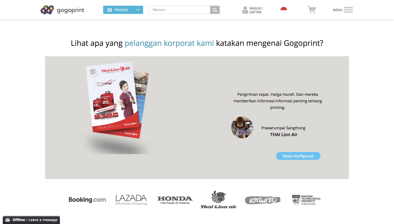 Gogoprint solusi percetakan online