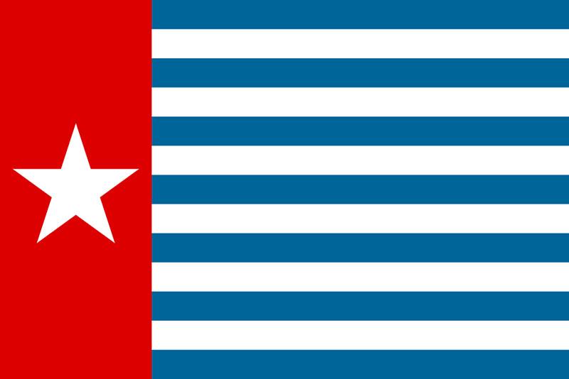 Bandera de Nueva Guinea Occidental