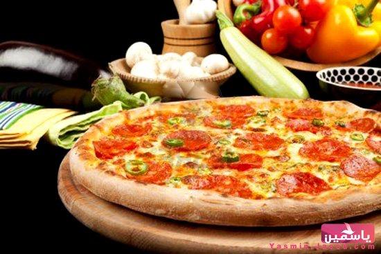 طريقة عمل بيتزا سلامي