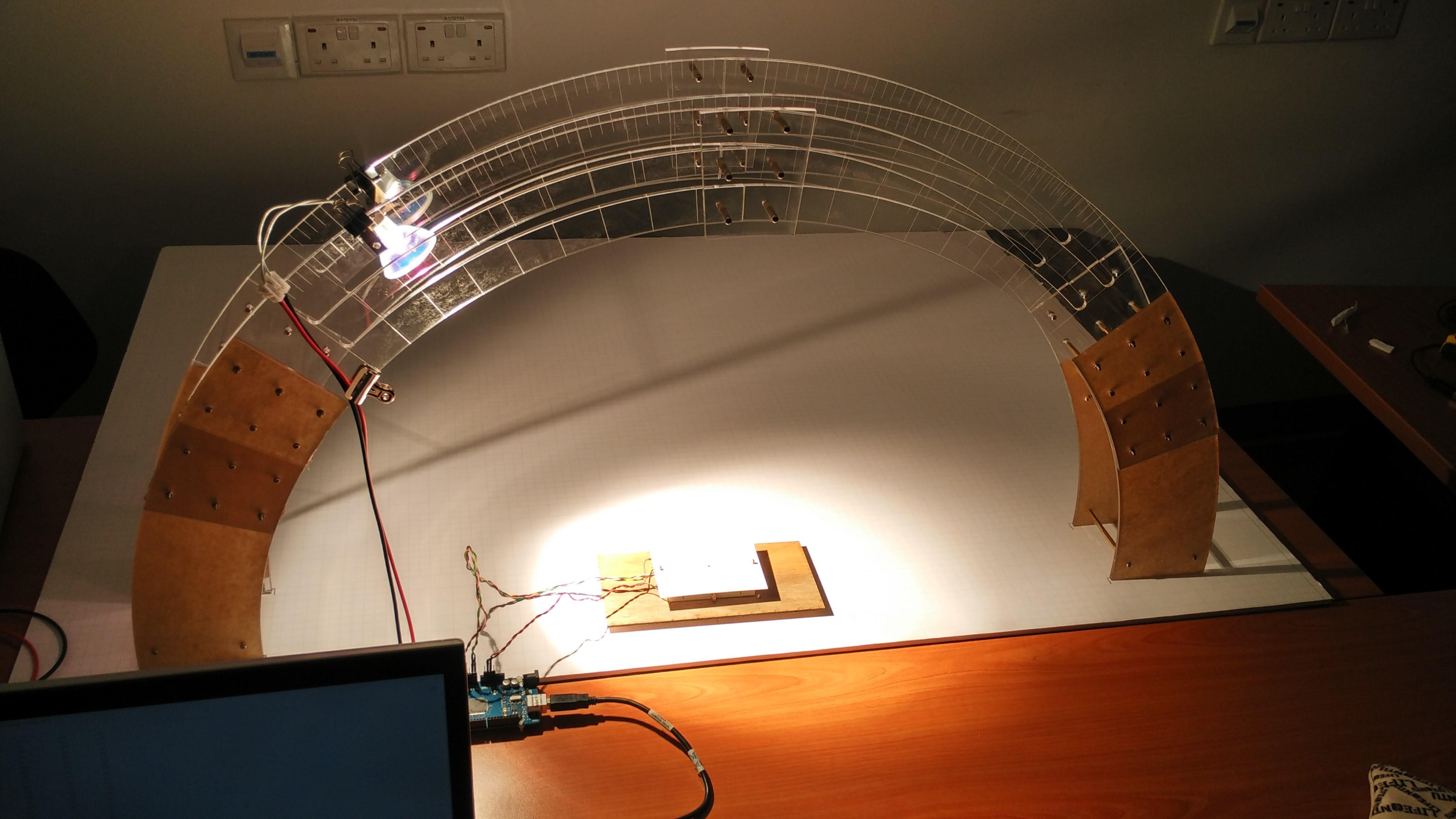 Sun Sensor Testing