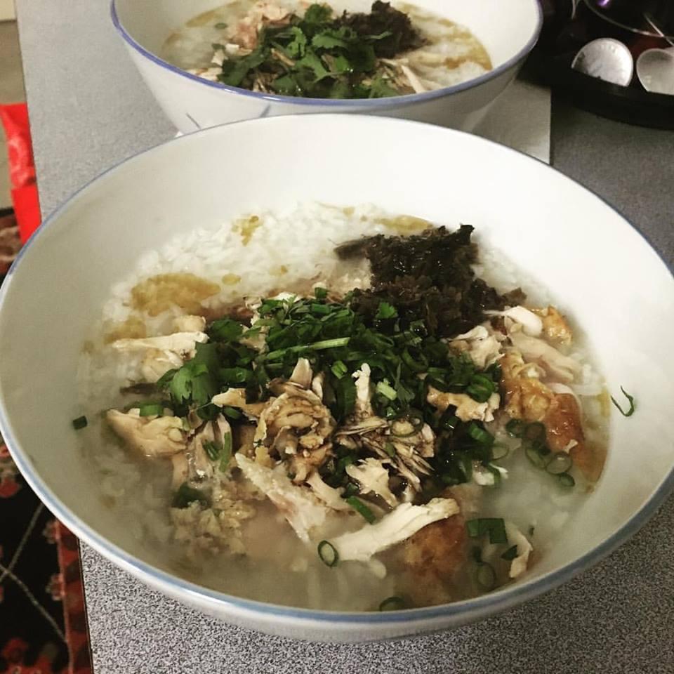 Chicken congee