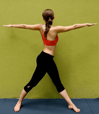 upper body twist
