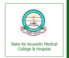 Babe Ke Ayurvedic Medical College and Hospital