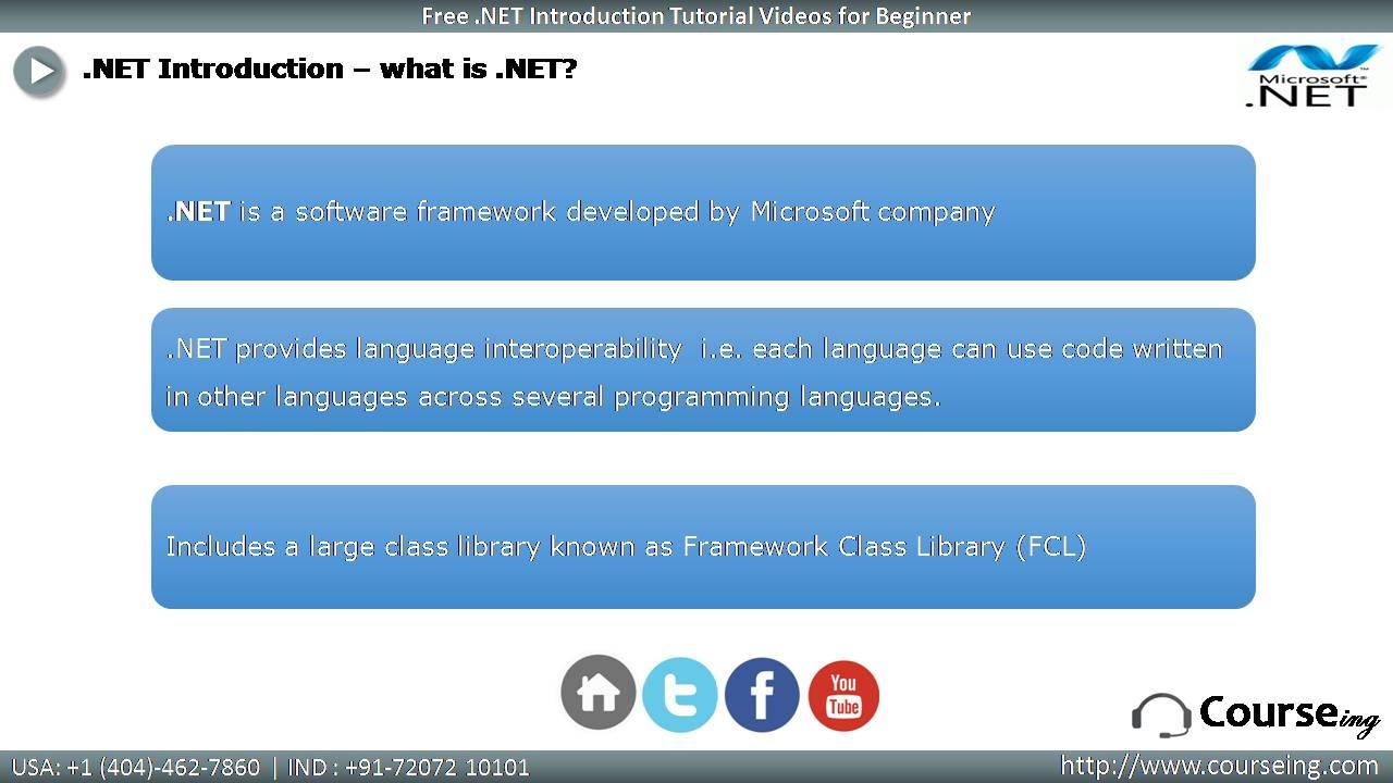 What is Dot Net