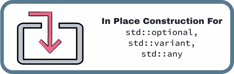 in place construction for C++17