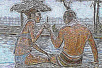 Libertinage a la plage