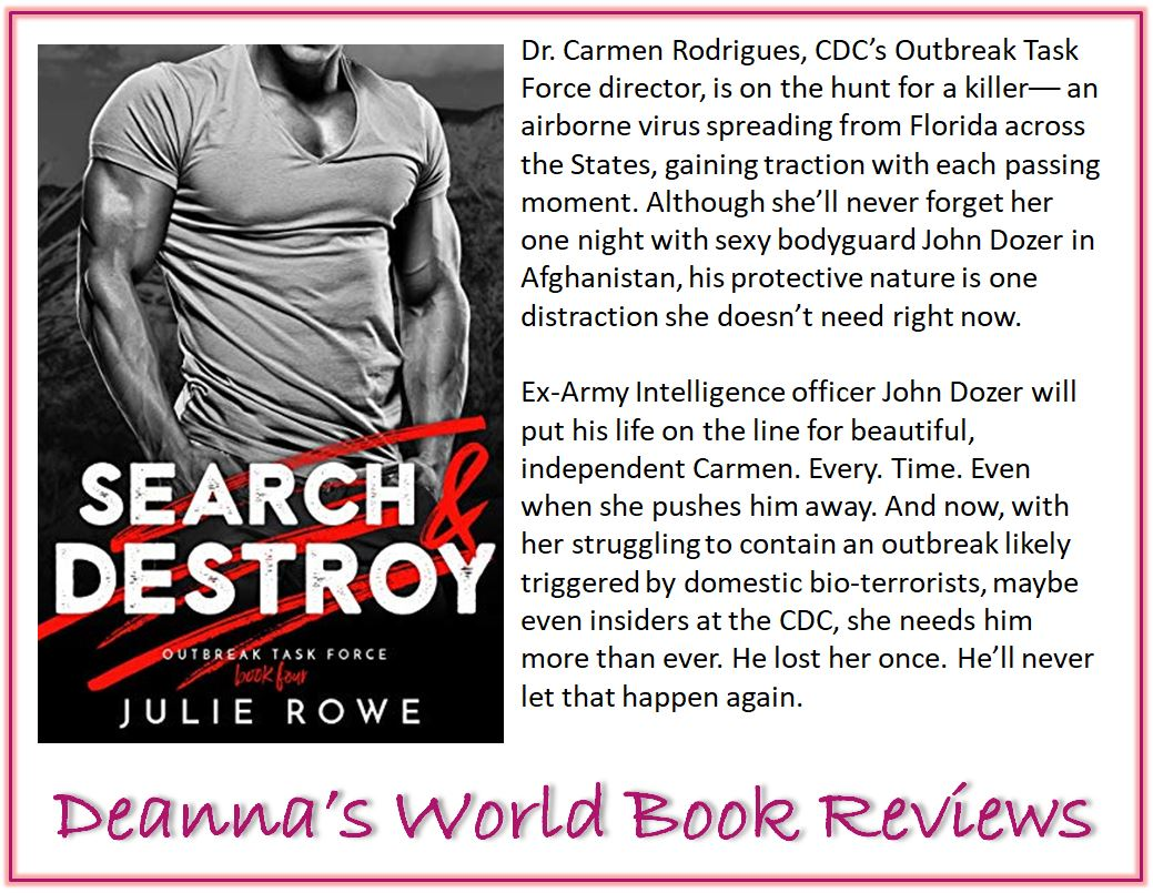 Search and Destroy by Julie Rowe blurb