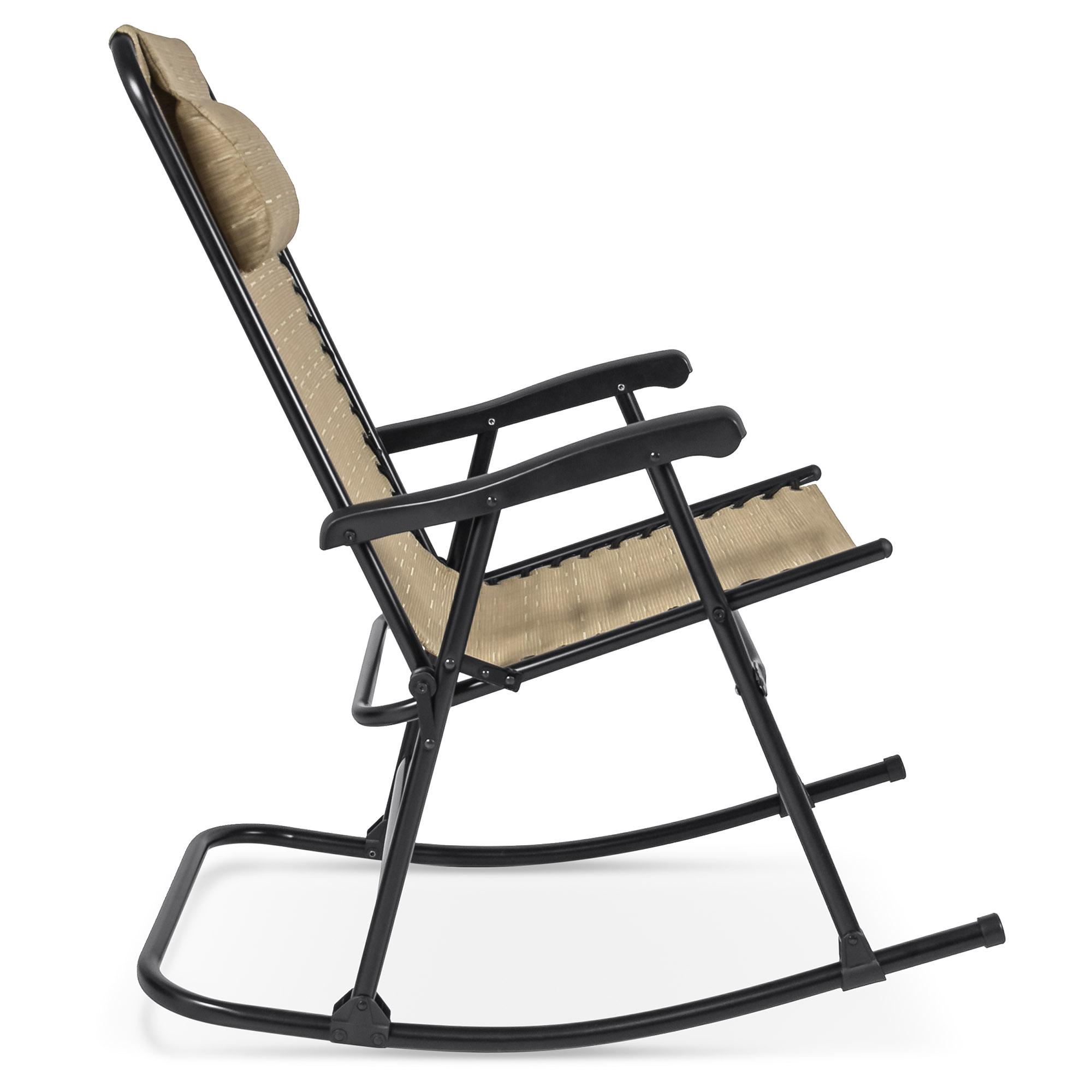 BCP-Foldable-Zero-Gravity-Patio-Rocking-Lounge-Chair thumbnail 10