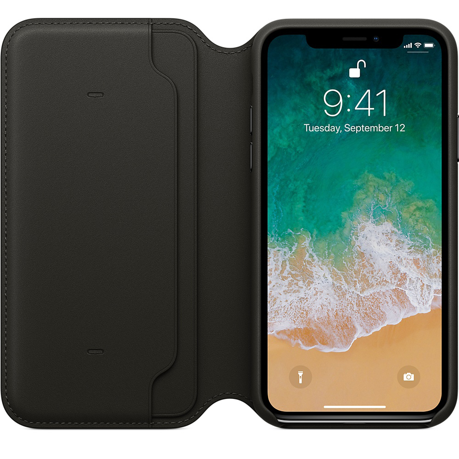 Genuine-Leather-Folio-Flip-Wallet-Case-Cover-For-Apple-iPhone-11-Pro-Max-Xs-8-7 thumbnail 15