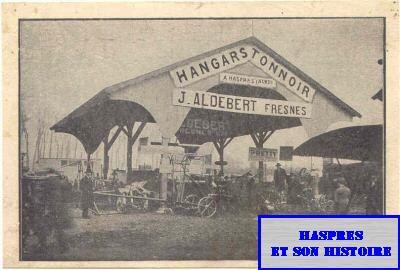 Hangars Tonnoir à Haspres