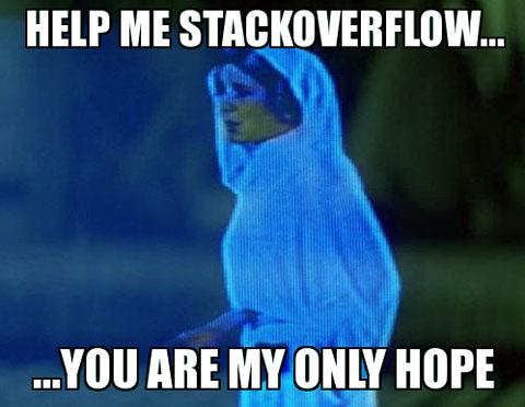 Wszystkie problemy i nadzieje rozwiążesz na stack overflow dla programistów