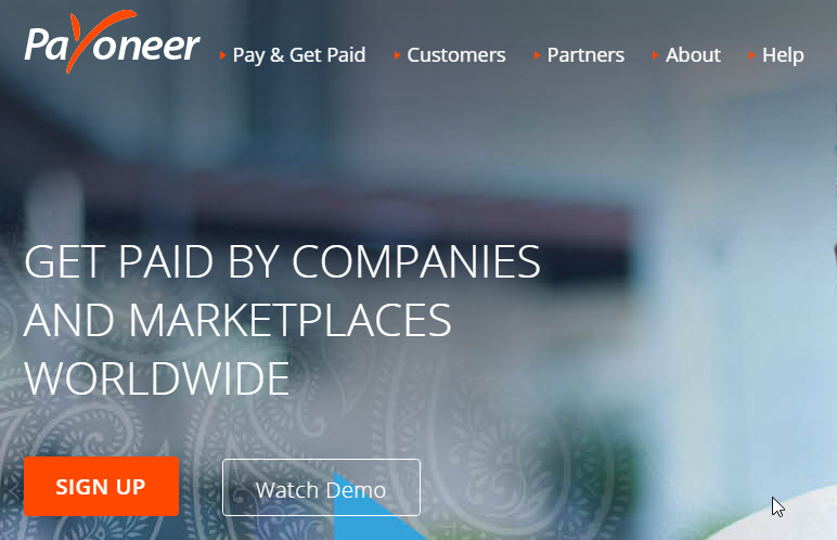 how to use payoneer to receive royalties worldwide