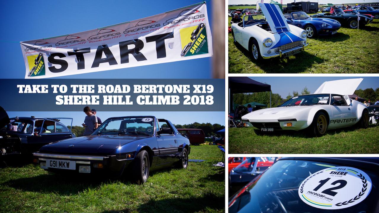 Shere Hill Climb Bertone x19 2018