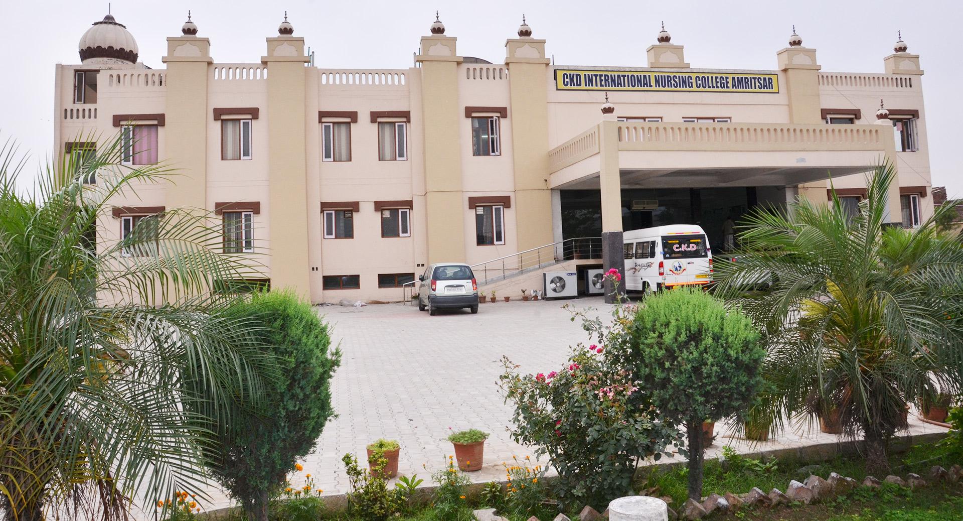 Chief Khalsa Diwan International Nursing College, Amritsar Image