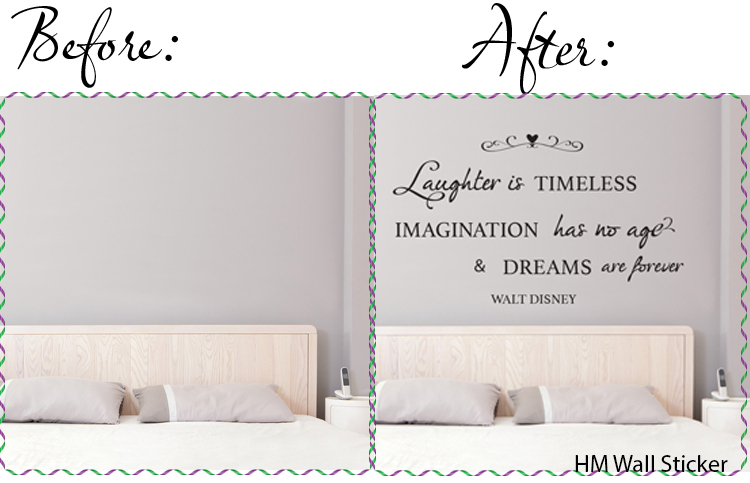 quote wall sticker kids nursery wall sticker vinyl decal HM wall decal Melbourne Australia customise personalised