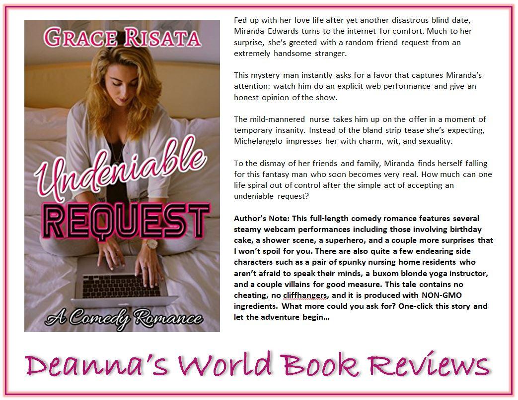 Undeniable Request by Grace Risata blurb
