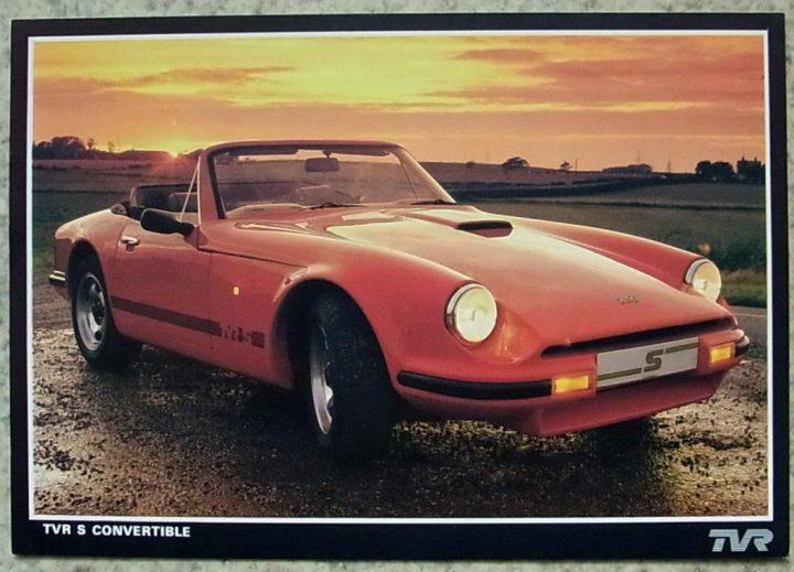 eBay Find: 1989 TVR S1