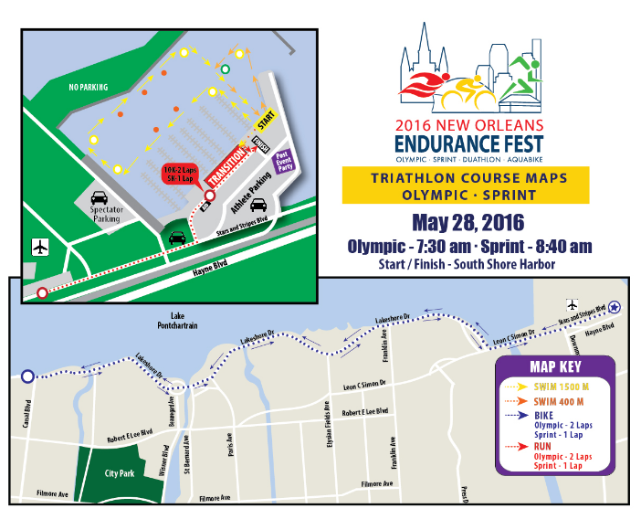 TRIATHLON MAP