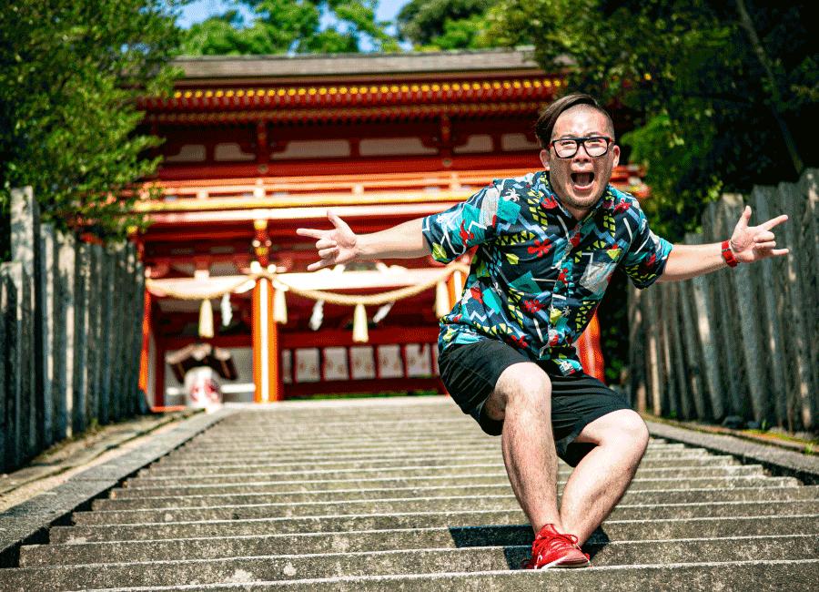 京丹後市金刀比羅神社にて
