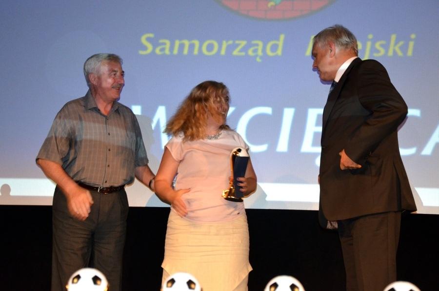 Piłkarskie Kaziki 2014 - Marek Piorun (po prawej)