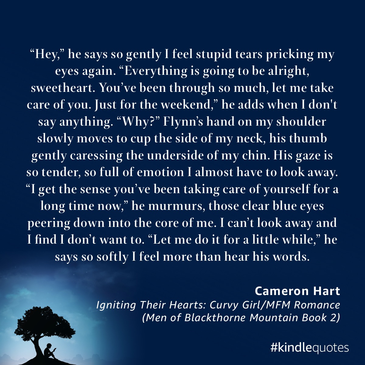 Book quote Cameron Hart