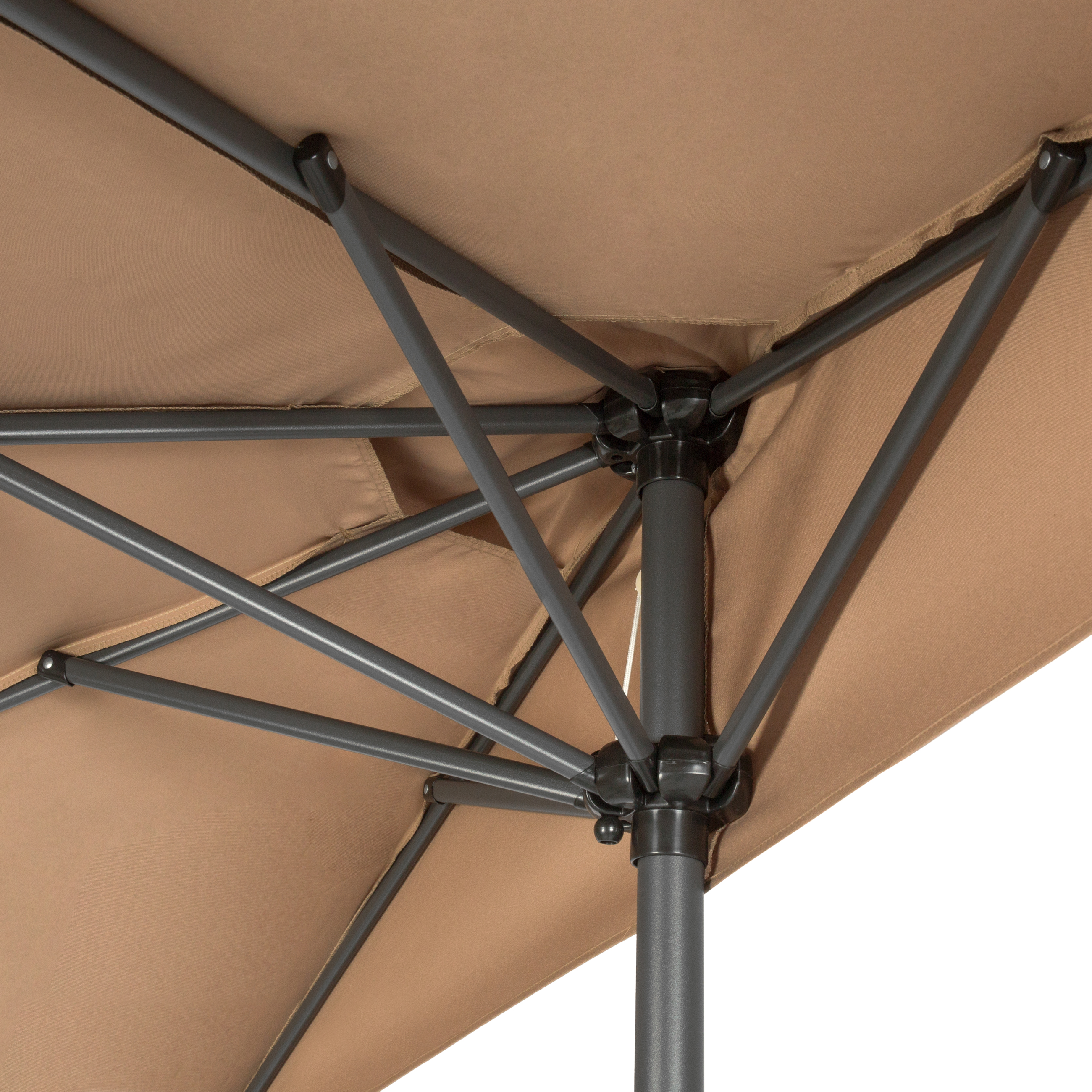 BCP-9ft-Half-Patio-Umbrella-w-Crank-Steel-Frame-UV-amp-Water-Resistant-Fabric thumbnail 34