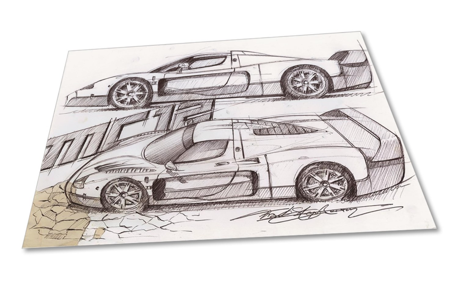 Frank Stephenson Design offers limited edition prints