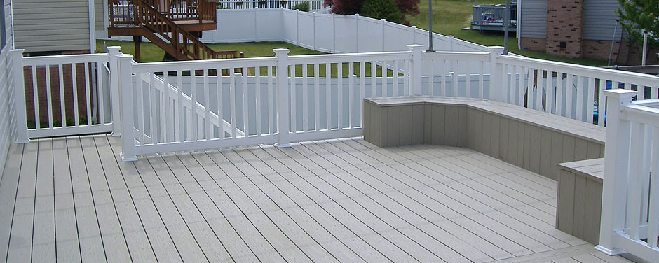 porch vinyl rail fence arizona Image