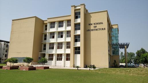 MM School of Architecture, Ambala Image