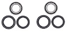 Both Rear Wheel Axle Bearing Seal Kit Honda TRX650FA Rincon 4x4 2003 2004 2005