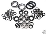 Suzuki LT250R LT-250R Quad Racer Chassis Bearings and Seals Kit 1987-1990