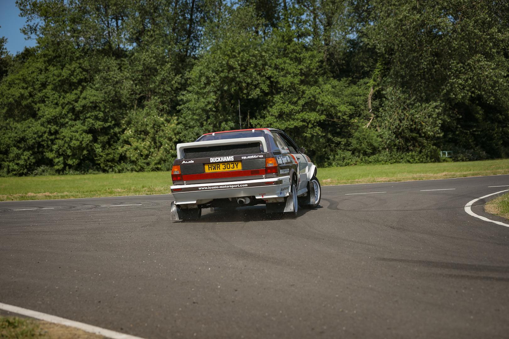 Take to the Road Feature Audi Quattro Turbo Group 4 Spec - 3 laps around Curborough Sprint Course