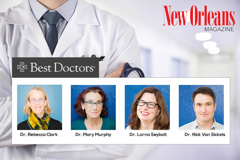 4 CrescentCare Physicians among the Best Doctors in America