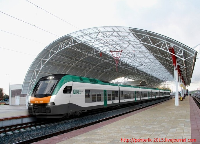 Поездка на комфортном поезде, с максимум для Беларуси!