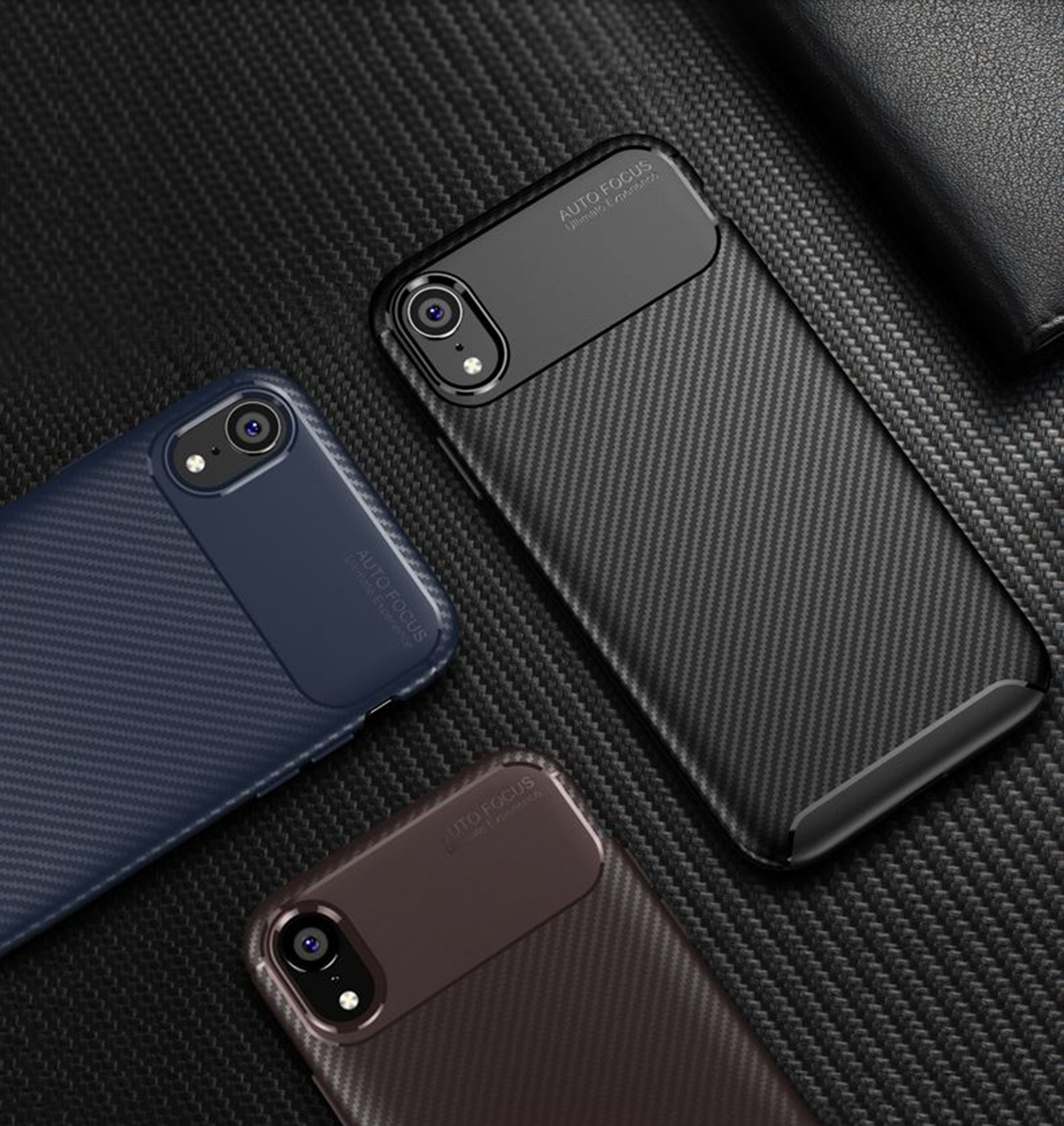 Case-for-iPhone-Carbon-Fibre-Soft-Cover-TPU-Silicone-Slim-11-X-XR-Max-8-7-6-Plus thumbnail 13