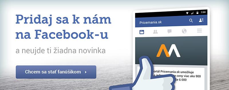 Pridaj sa k nám na FB a neujde ti žiadna novinka!