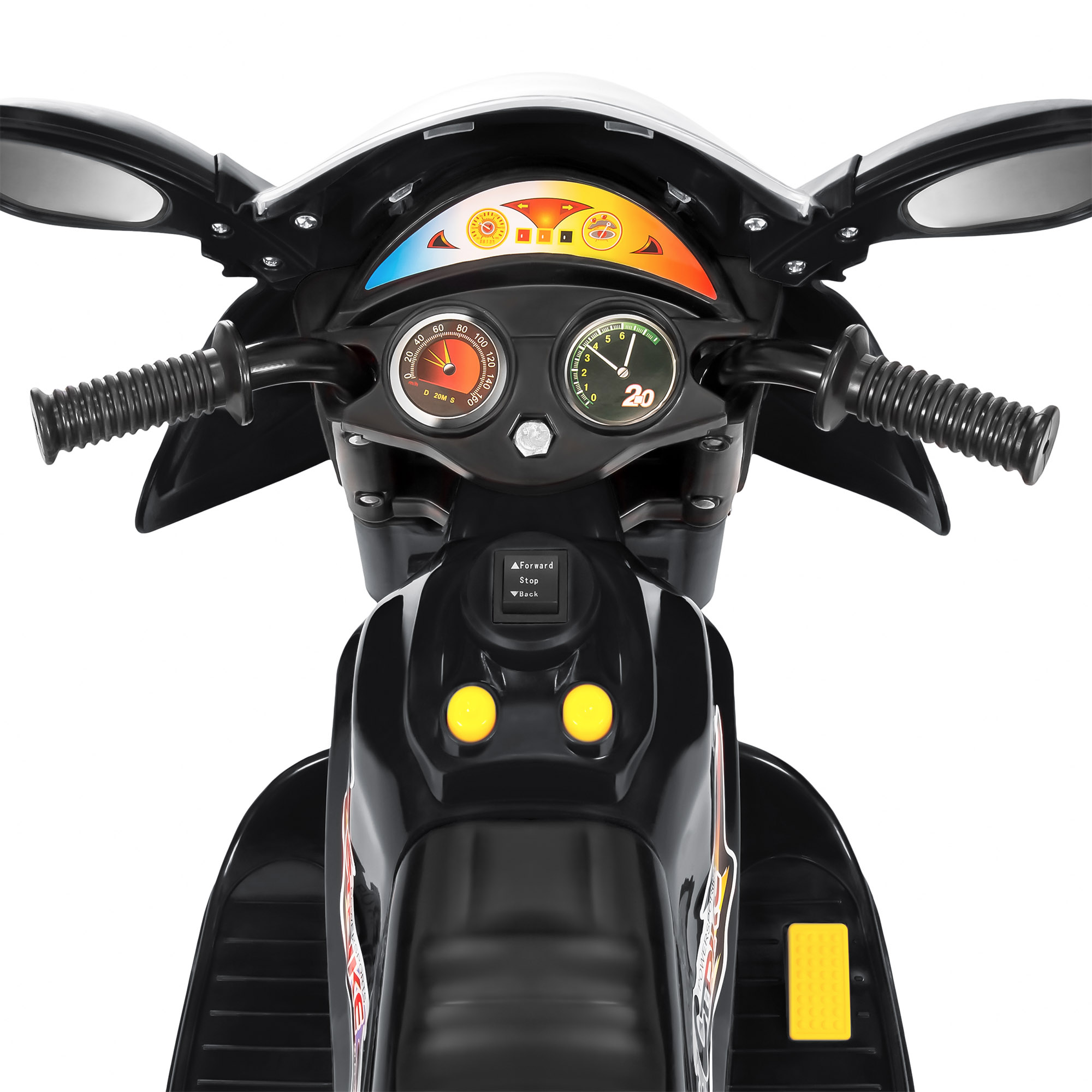 BCP-6V-Kids-3-Wheel-Motorcycle-Ride-On-Toy-w-LED-Lights-Music-Storage thumbnail 11