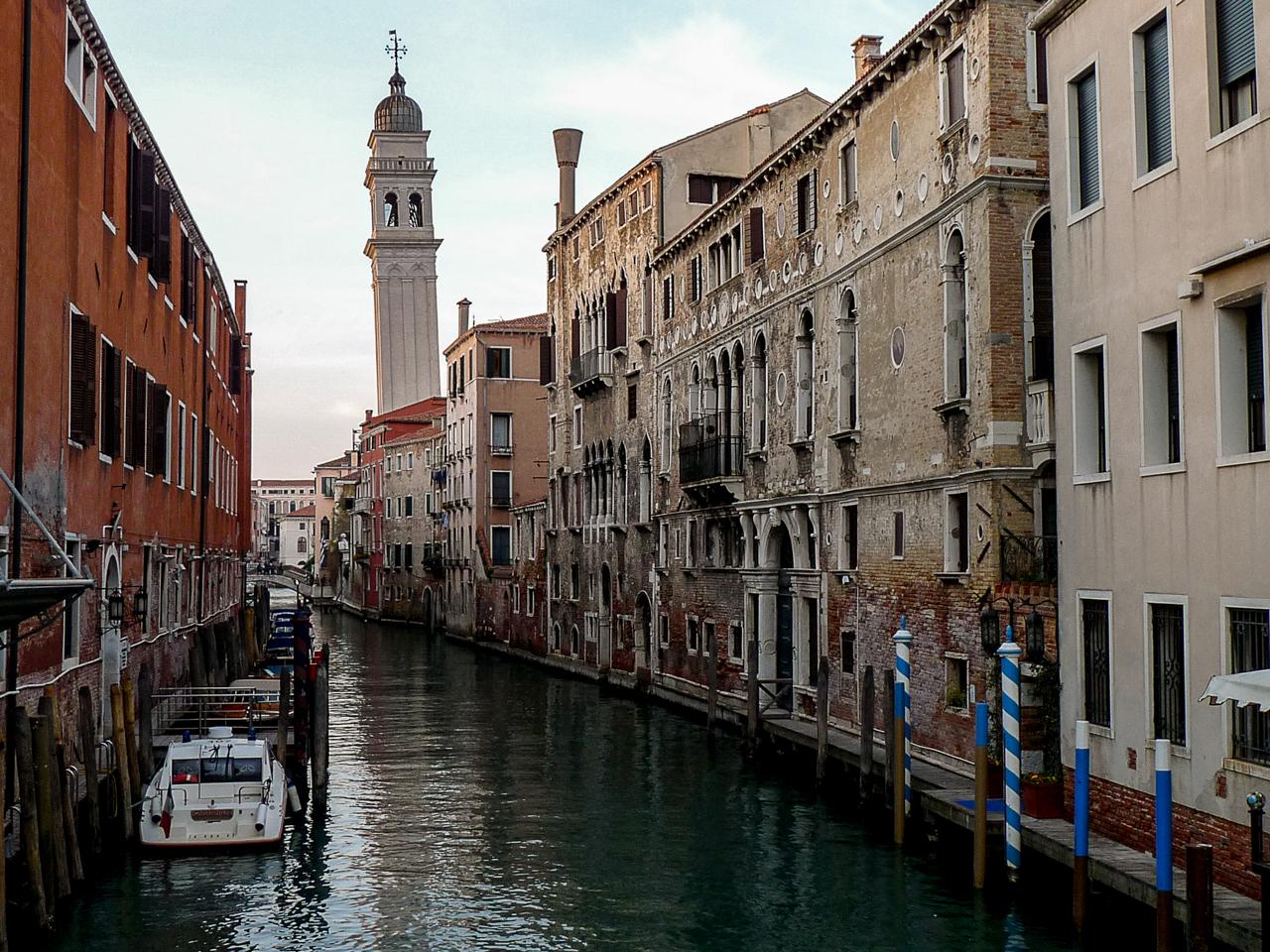 Torre inclinada de Venecia