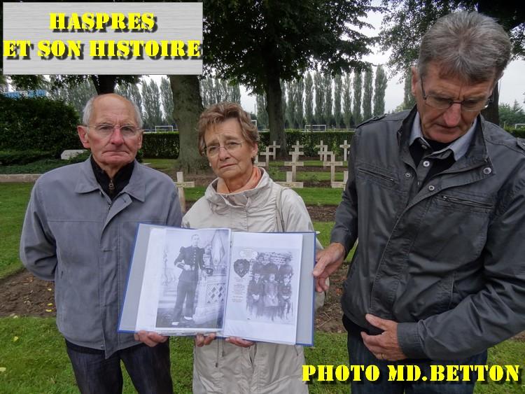 Haspres - Cérémonies du centenaire