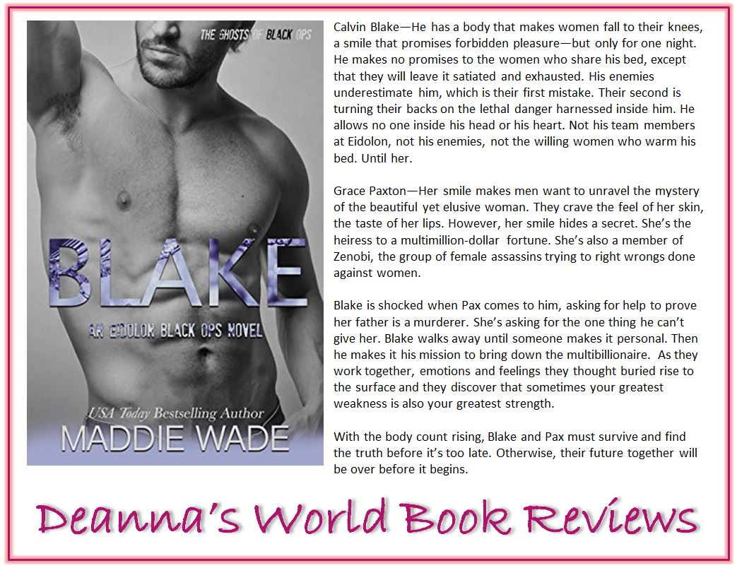 Blake by Maddie Wade blurb