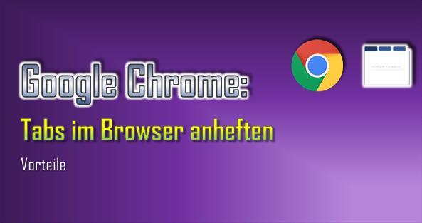 Durch das Anheften von Browser-Tabs werden diese im linken Bereich kollektiv angeordnet.