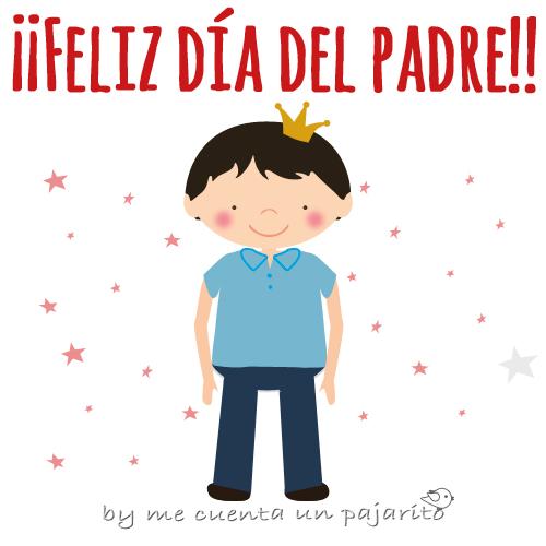 Lámina Feliz día del padre, San José