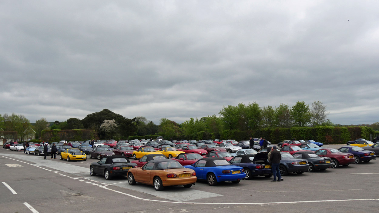 MX-5 OC Spring Rally Goodwood 2018