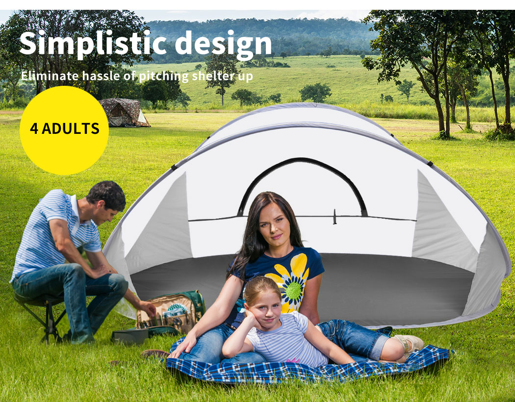 Mountvie-Pop-Up-Tent-Camping-Beach-Tents-4-Person-Portable-Hiking-Shade-Shelter thumbnail 26