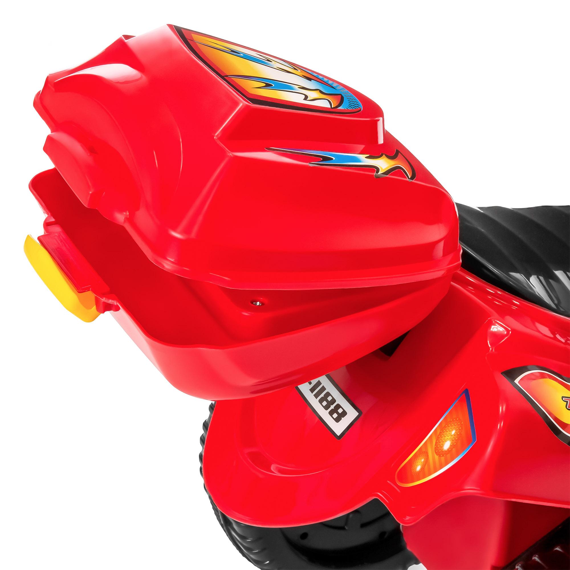 BCP-6V-Kids-3-Wheel-Motorcycle-Ride-On-Toy-w-LED-Lights-Music-Storage thumbnail 33