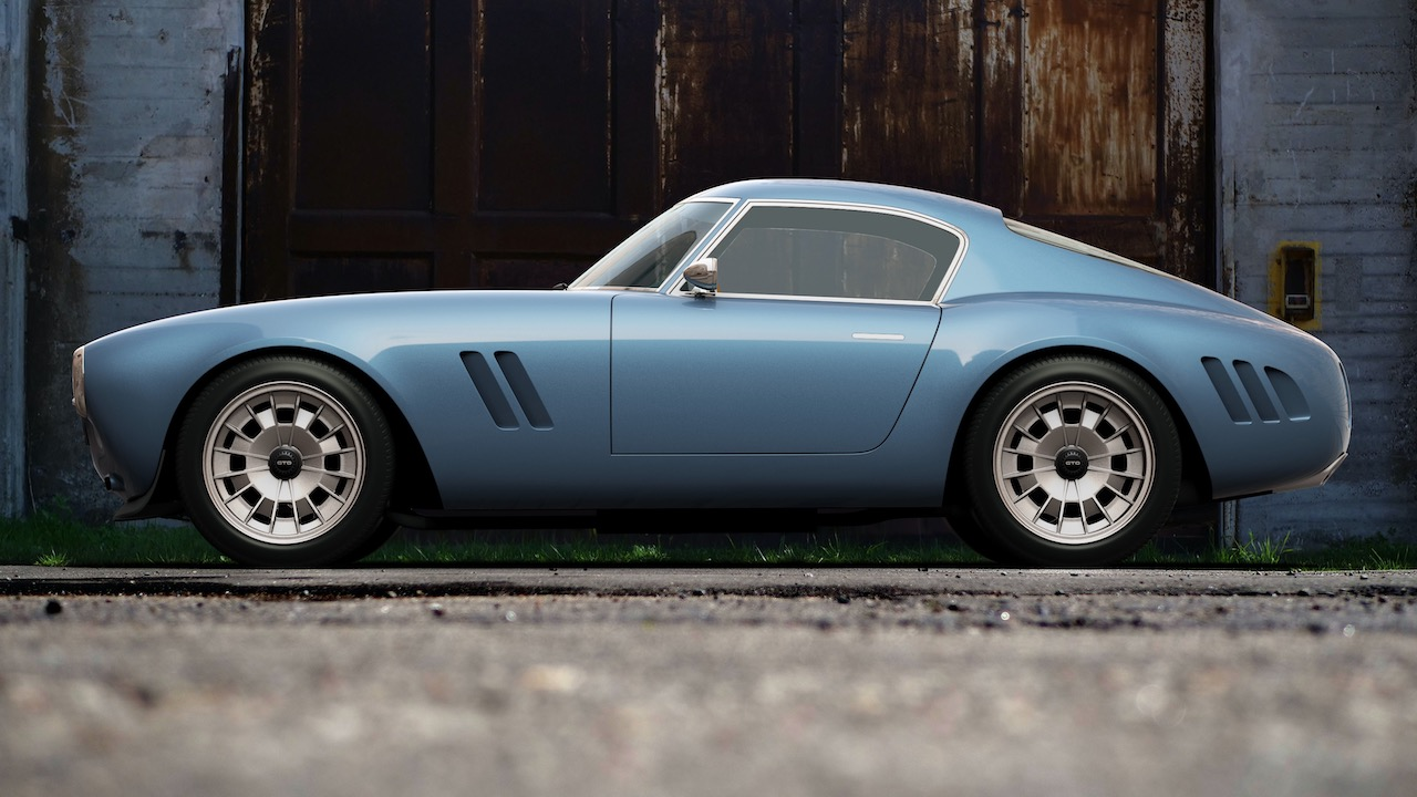 Squalo - GTO Engineering names its new V12 sports car