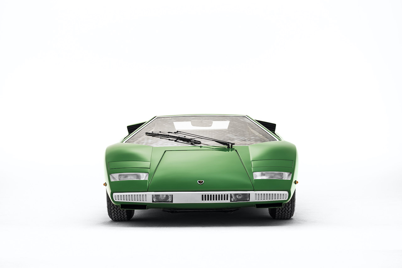 50 years on the Countach influences the latest Lamborghini's