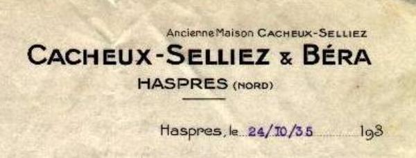 Tissage Cacheux - Selliez